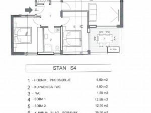 Mocire, novogradnja od 47 do 103 m2