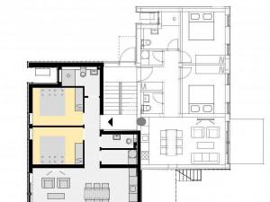 Apartman sa sa vrtom i bazenom