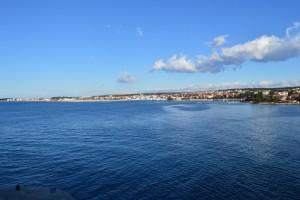Poluotok, stan 92 m2 sa pogledom na more