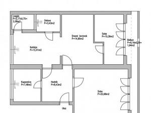 Poluotok, dvosoban komforan stan na izvrsnoj lokaciji
