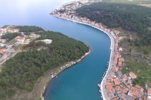 Novigrad - Dalmacija  ( naselje Crnoplja ) - EKSKLUZIVNO građevinsko zemljište ( 850 m2)
