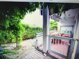 Petrčane, apartman sa terasom i velikim vrtom 100 m od mora